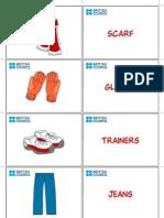 Clothes Flashcard 5