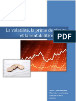Théorie de portefeuille - 220212
