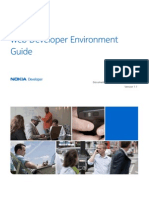 Nokia Web Tools Web Developer Environment Guide
