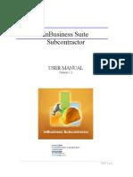 In Business Suite Subcontractor