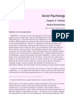 Social Psychology of Fashion