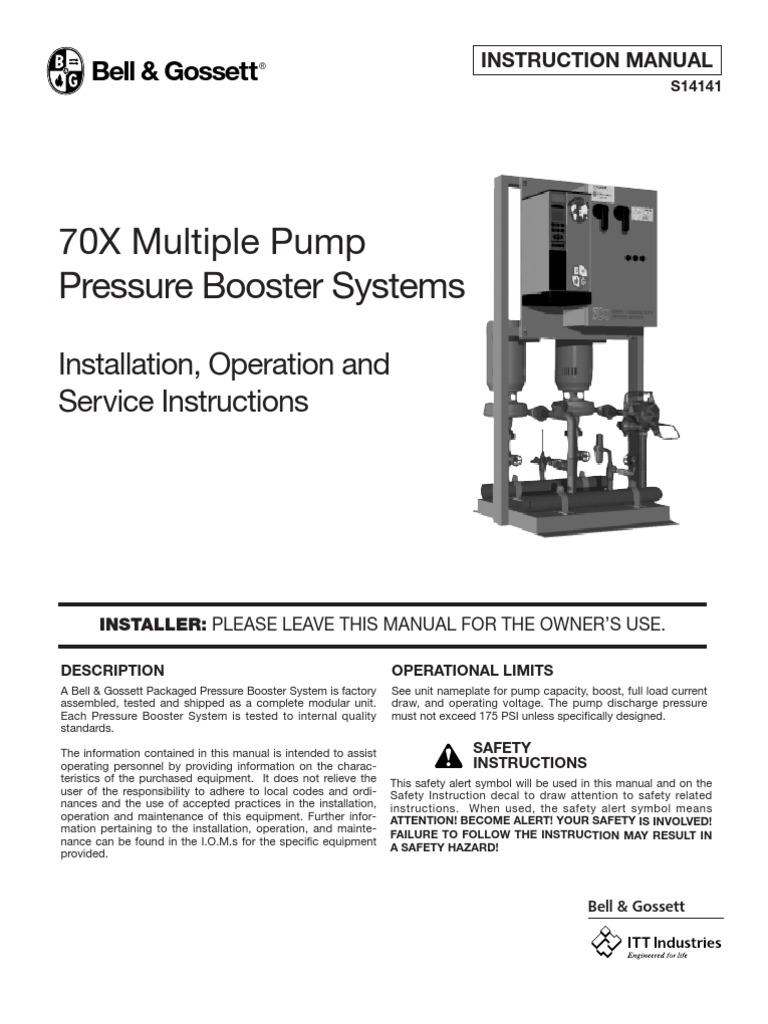 821 Valve Electrical Wiring Bell Gossett Diagram