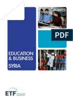 Education and Business - Syria