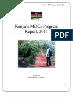 Kenya's MDGs Progress Report, 2011.pdf