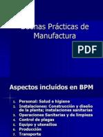 Buenas Prácticas de Manufactura aspectos generales