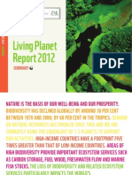 WWF-Living Planet Report 2012  (Executive Summary)