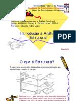 6 - Introducao a Analise Estrutural