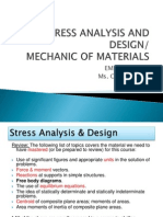 1-1 Stress Analysis and Design