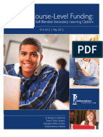 Online Course-Level Funding