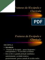 Fraturas Da Escapula e Clavicula