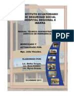 Normas Servicio Emergencias IESS Actualizado PDF