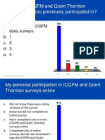 ICGFM May 2012 Conference - polling results (Tuesday, May 1) - Levergood & Hudson