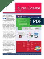 Burris Gazette Winter 2012