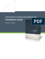 Zend Server CE 5.6 Installation Guide 012212