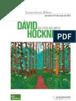 Exposición de pintura David Hockney en Guggenheim 15 Mayo