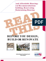 DOE - Practical Recommendations for Building, Renovating and Maintaining Housing 1