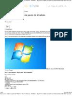 Como Colocar Senhas Em Pastas Do Windows - Dicas e Tutoriais - TechTudo
