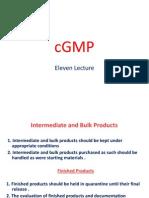 Lecture 11 cGMP