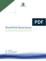 Share Point Governance Whitepaper Prescient Digital Apr 2012