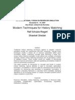 Modern Techniques for History Matching_Schulze-Riegert_Ghedan