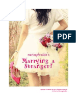 Marrying a Stranger