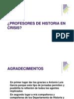 Profesores en Crisis