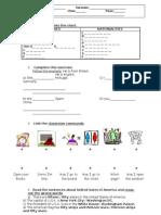 English Worksheet 2