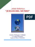 JUEGOS DEL MUNDO - UNIDAD DIDÁCTICA