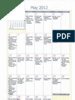 Oakmont Church May Calendar