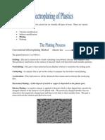 Electroplating of Plastics