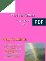 RADIATII VIZIBILE nm.ppt