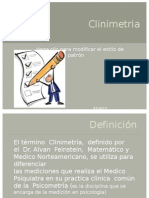 Clinimetria
