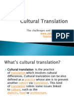 Cultural Translation New