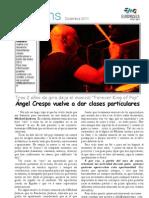 Diciembre 2011 +drums