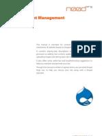 Basic Content Management in Drupal Noodorg