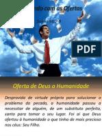 Adorando com as Ofertas - SERMÃO - DIOGO