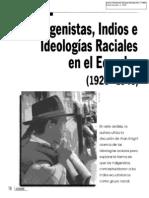 09. Racismo en el Ecuador. Indigenistas, indios e ideologías raciales... Clark Kim