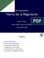 teoria regulacion