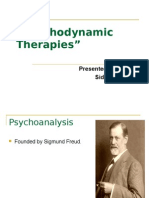Psycho Dynamic Therapies