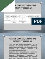 REDES CONMUTADAS DE COMPUTADORAS Introducción I