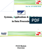 Sap Overview Fico