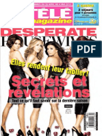 Magazine TELE MAGAZINE N.2947 Du 28 Avril Au 04 Mai 2012