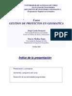Presentacio Gestion de Proyectos en Geomatica JCerda USACH