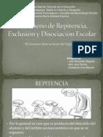 Fenómeno de Repitencia, Exclusión y Disociación Escolar