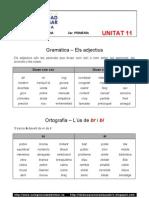 Unitat 11 - Gramàtica - Ortografia - Vocabulari
