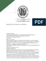Tribunal Supremo de Justicia (TSJ) Sentencia Cañada de Urdaneta (Fecha 14 de Enero 2010).