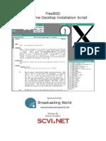 27366469 Gnome Desktop Installation Script for FreeBSD