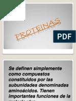 PROTEINAS DIAPOSITIVAS