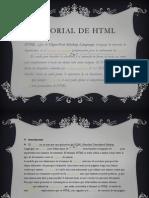 Tutorial de HTML