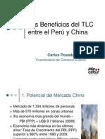 Beneficios de Tlc Peru China